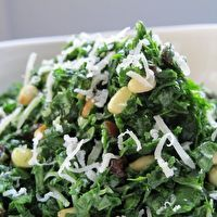 Melt In Your Mouth Kale Salad by Francesca