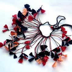 Paper Necklace by all things paper, via Flickr