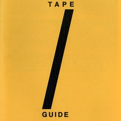 Tape Guide from Terence Hannum for $10.00 on Square Market