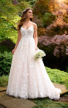 Essense of Australia Wedding Dress Bridal Gowns at Bournemouth Dorset. Beautiful bridal gowns in sizes Serving brides in Hampshire Wiltshire Evening Dresses For Weddings, Lace Weddings, Dream Wedding Dresses, Bridal Dresses, Gown Wedding, Outdoor Weddings, Country Weddings, Summer Weddings, Wedding Cakes