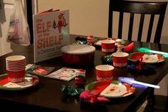 Elf on the Shelf arrival breakfast!