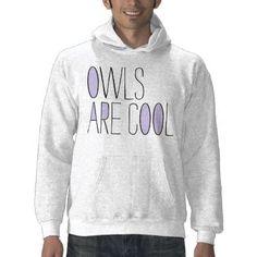 owls are cool sweatshirt by kneesock
