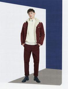 Maison Kitsune Fall 17.  menswear mnswr mens style mens fashion fashion style maisonkitsuné campaign lookbook