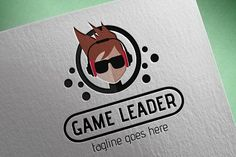 Game Leader Logo by tkent on @creativemarket