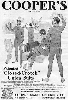 """closed crotch"" suits haha"