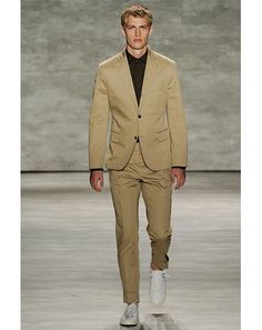 Todd Snyder SS 2015: Khaki with black is back