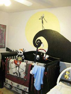 Nightmare before christmas baby room