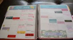 Erin Condren Life Planner - Quick Overview and How I Use Mine - Review  #lifeplanner #planneraddict #planner #erincondren #review #personalized #washi