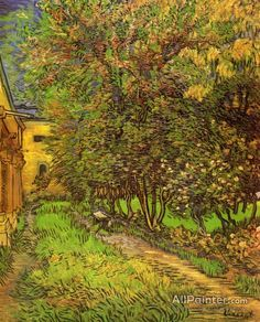 Vincent Van Gogh The Garden Of Saint-paul Hospital oil painting reproductions for sale