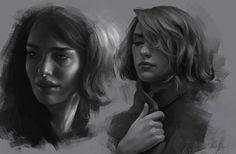 Photo study , Jane Nane on ArtStation at https://www.artstation.com/artwork/olnAO