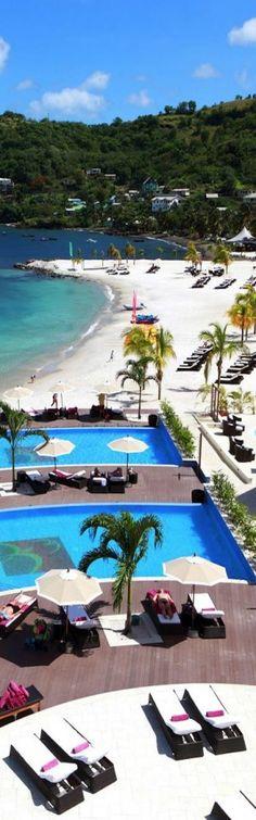 Buccament Bay Resort, St Vincent...Caribbean