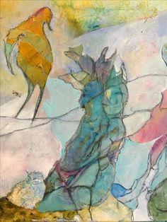Abstract Art, Coast, Artwork, Maine, Mixed Media, Painting, Work Of Art, Auguste Rodin Artwork, Painting Art