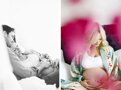 The day before Charlie was born … my pregnancy photos
