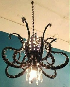 41 Fabulous Chandelier You Can Try. A room with a chandelier it's always more impressive than not. The chandelier always stands out and makes the person walking into the room where it is hung stand . Shabby Chic, Gothic House, My New Room, My Dream Home, Home Improvement, Creations, House Design, Design Design, Interior Design