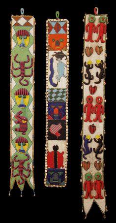 Yoruba Beaded Sashes 31-33