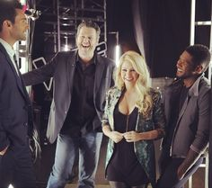 Gotta love Adam,Blake,Shakira, and Usher