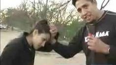 Krav Maga for Women : Defend Against The Hair Grab for Women, via YouTube.