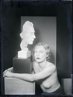 Man Ray, Genica Athanasiou (companion of Antonin Artaud), 1930.