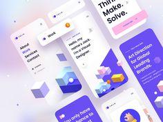 Folio: Designer Portfolio Kit – Mobile Version by Tran Mau Tri Tam ✪