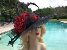 e19c6ca3e8c Run for the Roses Fabulous Derby hat designed by Haute Dames.