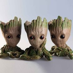 Buy Groot Planter Pot Baby Flowerpot Action Figures Toy Pen Pot PVC Hero Model Guardians Of The Galaxy Crafts Figurine Dorp shipping Terrarium, Galaxy Crafts, Eco Store, Globe Decor, Hanging Vases, Flower Holder, Gifted Kids, Christmas Gifts For Kids, Plant Holders