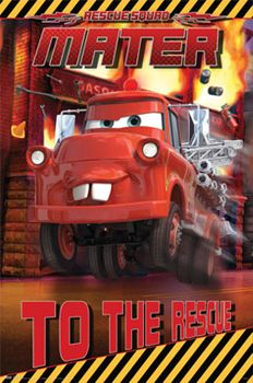 Disney-Pixar Cars MATER TO THE RESCUE Poster - available at www.sportsposterwarehouse.com