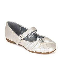 Little Angel CC55 Leatherette Ruffled Rhinestones Embellishment Ballerina Flat (Toddler/ Little Girl/ Big Girl) - Ivory (Size: Little Kid 12) Little Angel http://www.amazon.com/dp/B00UNR05GE/ref=cm_sw_r_pi_dp_0PmXvb0QTYDZV