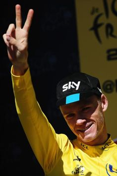 That's two Tour wins for Chris Froome