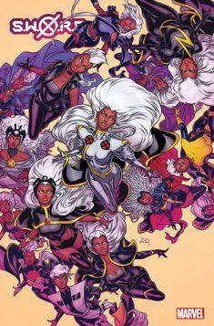 Marvel Comic Character, Marvel Comic Books, Marvel Comics, Marvel Art, Onslaught Marvel, X Men Costumes, Storm Marvel, Storm Xmen, Comic Costume
