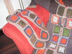 Granny Squares Vest plus Sjaal