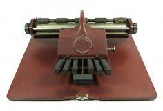 COLECIONISMO - antiga maquina de escrever em braile, ma..