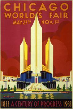 chicago world fair poster