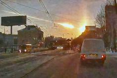 meteoro de Chelyabinsk 1