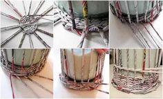 плетение из газетных трубочек: 13 тыс изображений найдено в Яндекс.Картинках