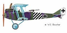 Rumpler C.IV - 1917