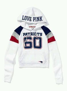 Vs love pink patriots hoodie