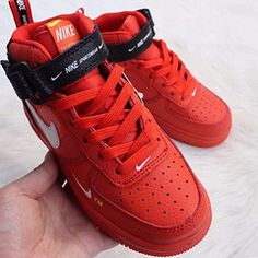 Nike Air Force NBA section Real two-layer leather lychee pattern high Nike Air Force High, Air Force Sneakers, Sneakers Nike, Nba, Pattern, Leather, Shoes, Fashion, Nike Tennis