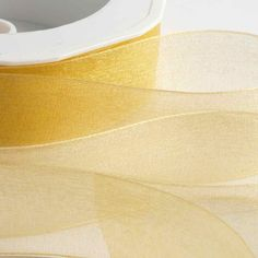 Add luxury and design to your favour boxes with this Gold Organza Ribbon with Woven Edge. Make Your Own Wedding Invitations, Paper Napkins For Decoupage, Burlap Lace, Organza Ribbon, Happy Birthday Cards, Gold Wedding, Headbands, Favors, Special Delivery