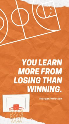 Although winning is always the end goal there is so much to learn from a loss! As long as you're learning you're winning! #basketballmotivation #bball #basketball #basketballquotes #quotes #lifequotes #motivation #motivationalquotes #inspiration #inspirationalquotes #sportsquotes #basketballcoach #basketballplayer