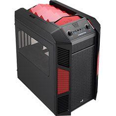 Aerocool Xpredator Cube Mini Tower Red