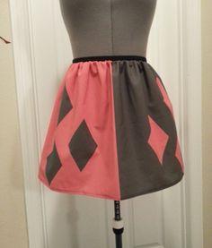 Harley Quinn inspired full skirt - made to order. $45.00, via Etsy.  @Jackie Phifer
