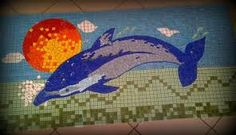 golfinhos em mosaicos - Pesquisa Google