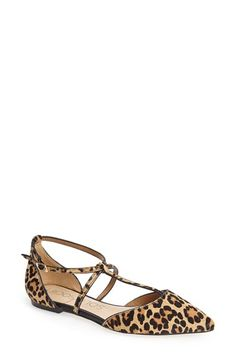 Free shipping and returns on Sole Society 'Chandler' Pointy Toe Flat (Women) at Nordstrom.com. Slim straps accentuate the clean, modern lines of a go-to flat finished with a sleek pointed toe.