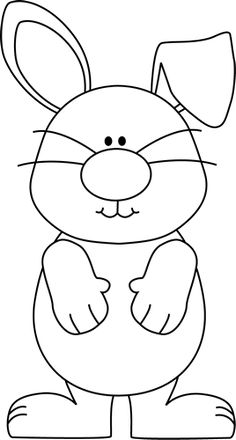 Best Coloring: Floppy ear bunny coloring pages - Amazing Coloring sheets - Bunny Coloring Pages, Easter Colouring, Coloring Pages For Kids, Coloring Sheets, Coloring Books, Easter Activities, Preschool Crafts, Easter Crafts, Crafts For Kids