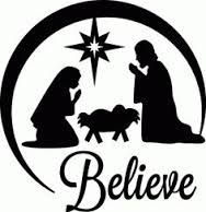 nativity silhouette cutout - Google Search