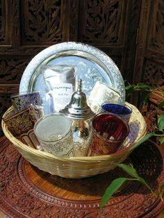 Moroccan tea set 1. http://www.maroque.co.uk/showitem.aspx?id=ENT00274&p=00741