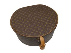 #LouisVuitton Monogram Boite Chapeaux #Vintage Hat Box M23624 RARE Buy It Now -
