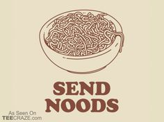 Send Noods T-Shirt - https://teecraze.com/send-noods-t-shirt/ - Designed by Busted Tees #tshirt #tee #art #fashion #TCRZ #clothing #apparel #nudes