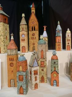 Prayer Towers by Holden McCurry - this could be a lovely idea if working in a religious ed school