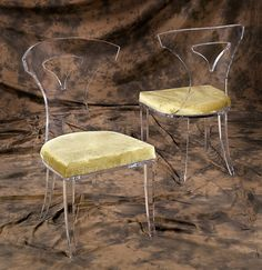 We have beautiful Victory Dining Chair. Our Acrylic furniture are very awesome and Classic. Sharooz art provides Chairs and Living Rooms with adds compliment to your collection.